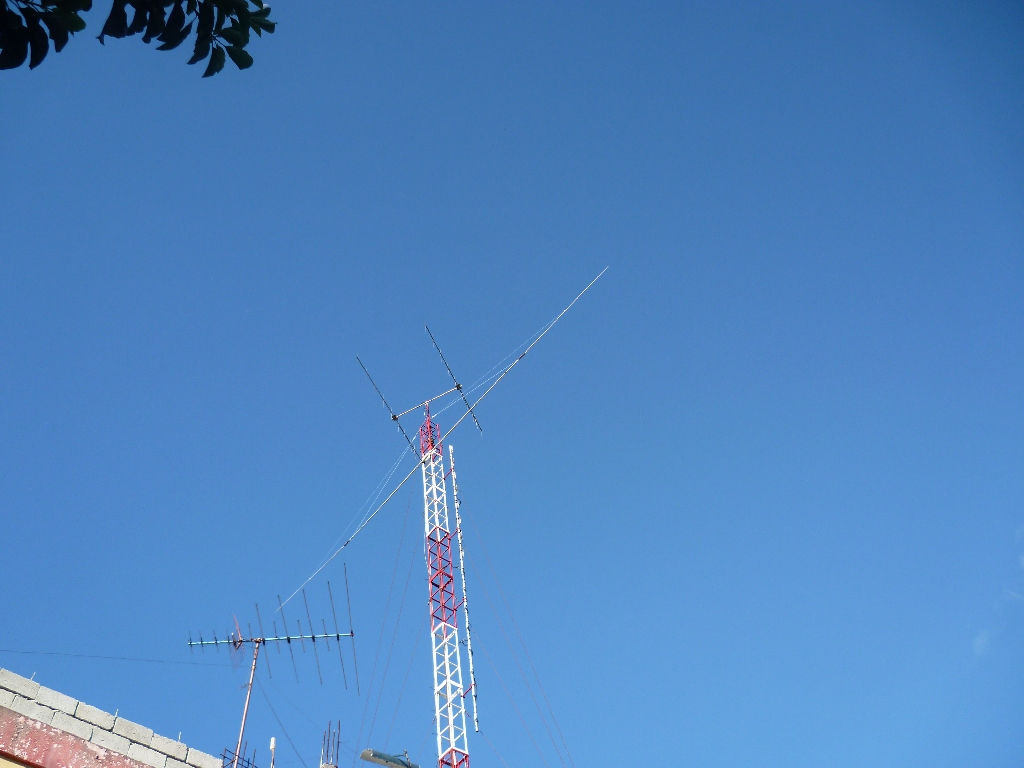Here is the DV1SGF Antenna!!!